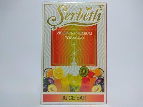 Табак для кальяна SERBETLI Juice Bar 50gr