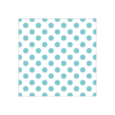 Ацетатный лист  30 х30 см - Discover USA Acetate -  Blue Foil Dots