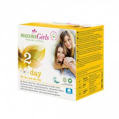 Прокладки дневные с крылышками, для девочек-подростков (Masmi)