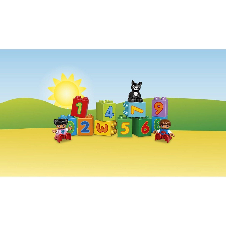 Конструктор LEGO DUPLO My First Поезд «Считай и играй» (10847)