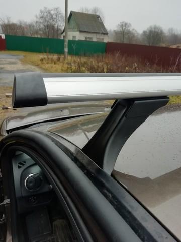 Багажник Дельта на Рено Логан, Сандеро с аэродинамической  поперечиной 130 см.