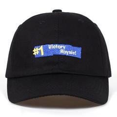Бейсболка с вышивкой Victory Royale Fortnite (Кепка по мотивам игры Фортнайт) черная