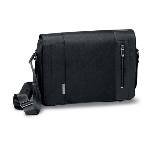 Мессенджер Roncato Flag briefcase with flap Black