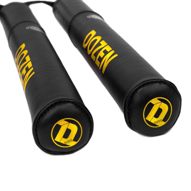 Лападаны Dozen Monochrome черно-желтые наконечники