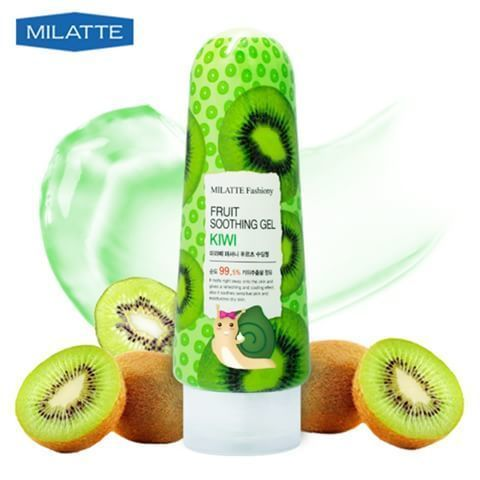 Фруктовый гель Milatte Fashiony Fruit Soothing Gel Kiwi