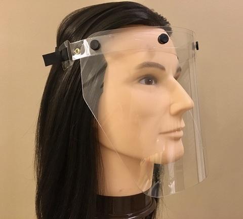 Защитный экран для парикмахера