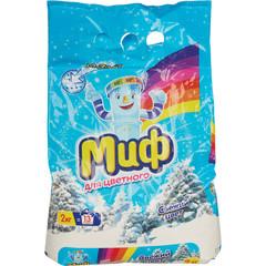 Порошок стиральный автомат Миф Свежий цвет 2 кг