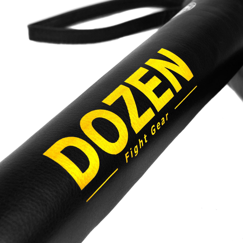 Лападаны Dozen Monochrome черно-желтые лого
