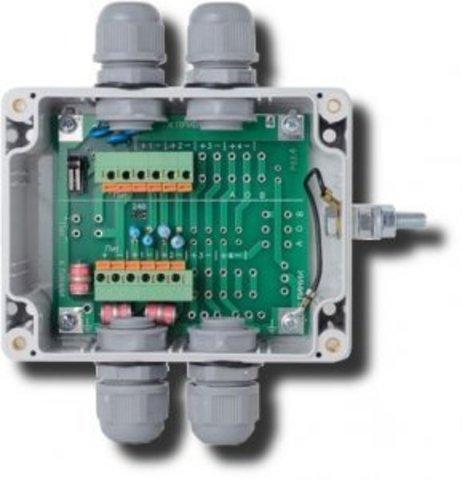 Модуль грозозащиты УЗ-1Ш-1ТВ-1RS485-24