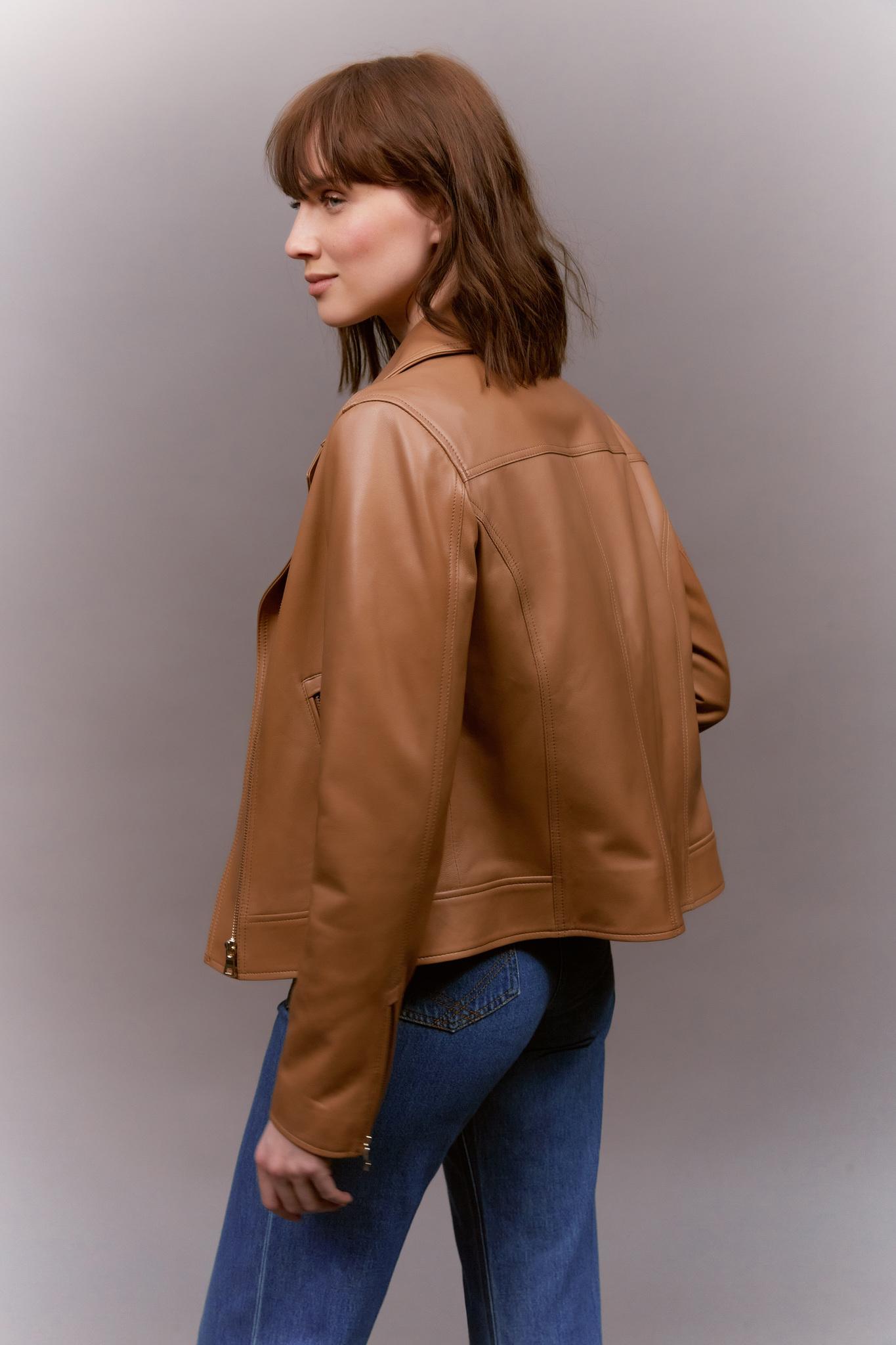 MARGOT - Кожаная байкерская куртка