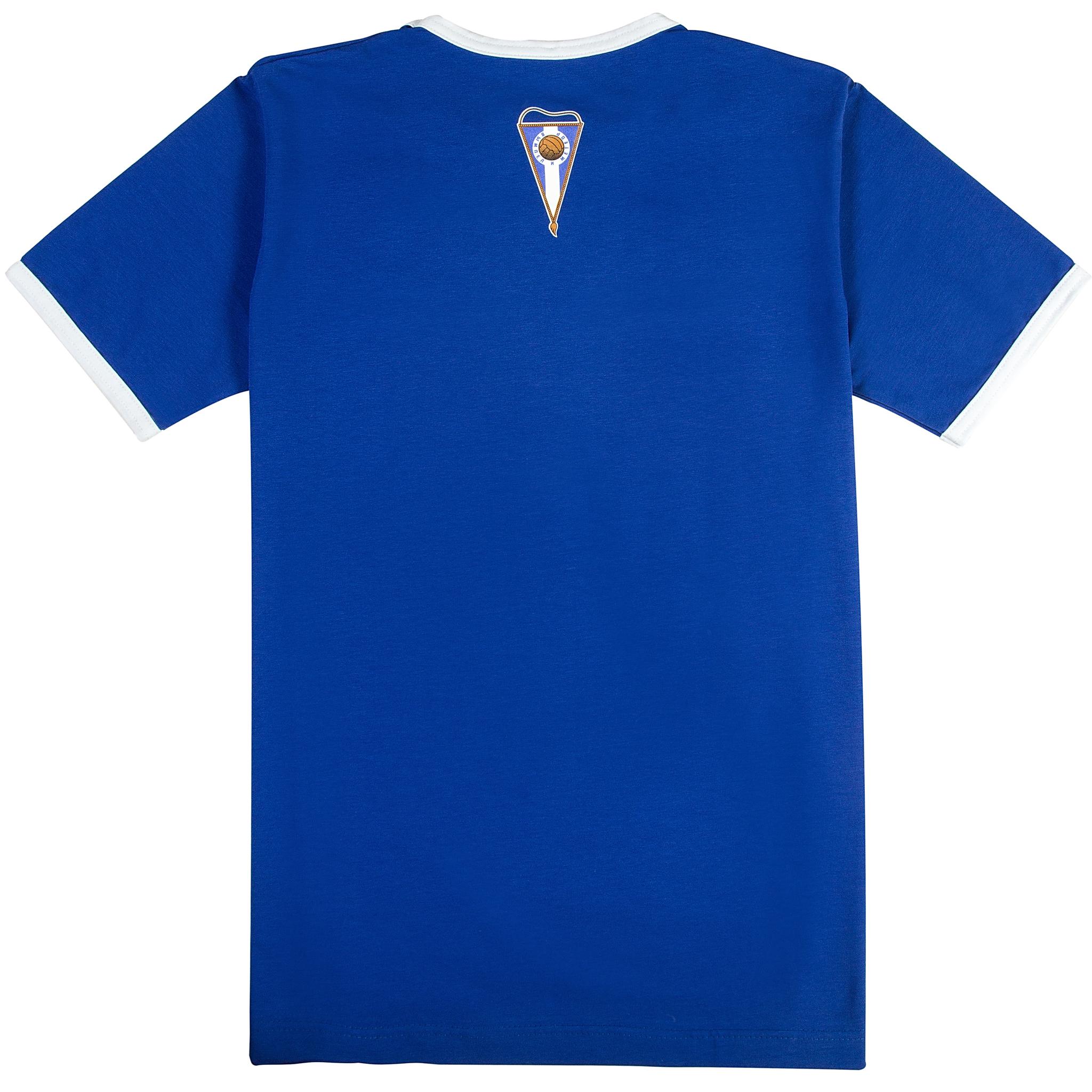 Футболка Лев Яшин синяя