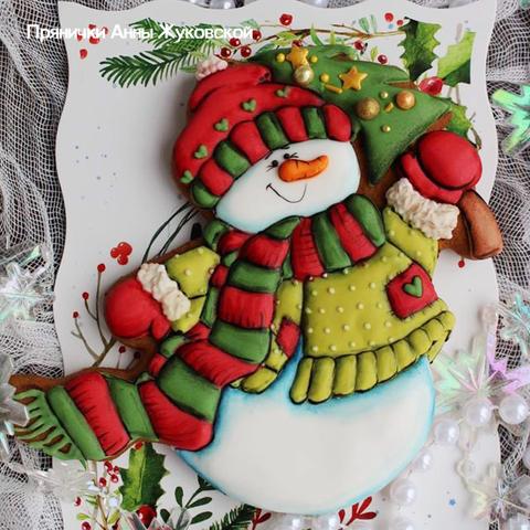 Набор №1255 - Снеговик с Елкой