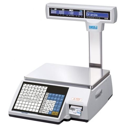 CAS CL-5000J-15IP весы с печатью этикетки со стойкой, Ethernet