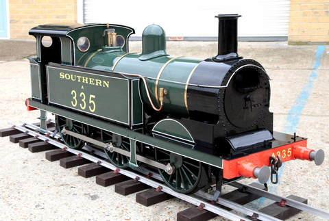 Garden Rail Паровоз SE & CR R1 на колею 17,8 см, угольный