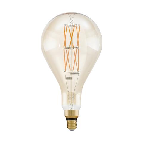 Лампа  LED филаментная диммир. янтарного цвета Eglo BIG SIZE LM-LED-E27 1X8W 806Lm 2100K PS160 11686