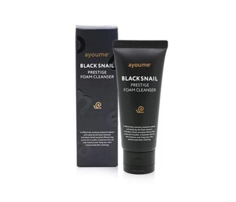 AYOUME BLACK SNAIL PRESTIGE FOAM CLEANSER