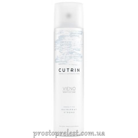 Cutrin Vieno Sensitive Hairspray Strong - Лак сильної фіксації без аромату