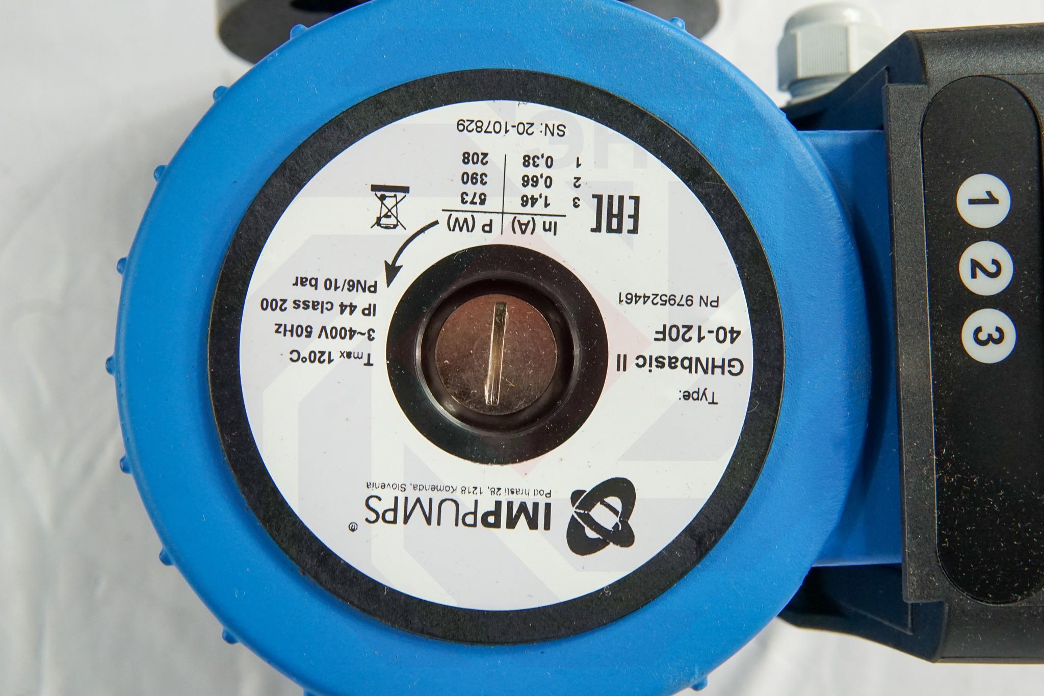 Насос циркуляционный IMP GHN Basic II 40-120 F