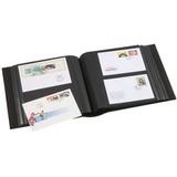 Альбом для 200 FDCs или конвертов размером 195x130 mm, с шубером, зеленый