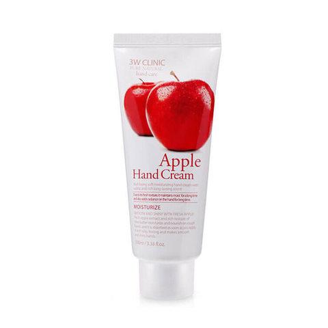 3W CLINIC Hand Cream AppleУвлажняющий крем для рук с экстрактом яблока