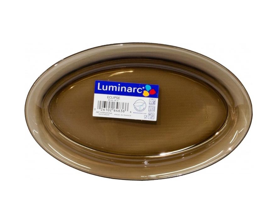 Блюдо овальное  Luminarc Ambiante Eclipse 22см L5182