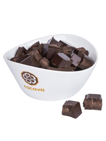 Тёмный шоколад 70 % какао (Никарагуа O'Tuma), внешний вид