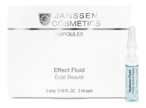 Ультраувлажняющая сыворотка с гиалуроновой кислотой Janssen Hyaluron Fluid,7амп.х2 мл.