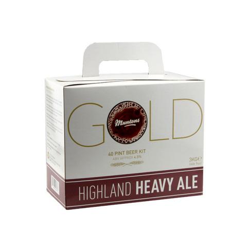 Экстракт Muntons GOLD - Highland Heavy Ale (3 кг)
