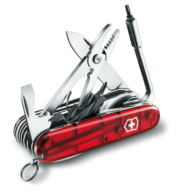 Складной нож Victorinox CyberTool L 41 (1.7775.T) 91 мм., 41 функция - Wenger-Victorinox.Ru