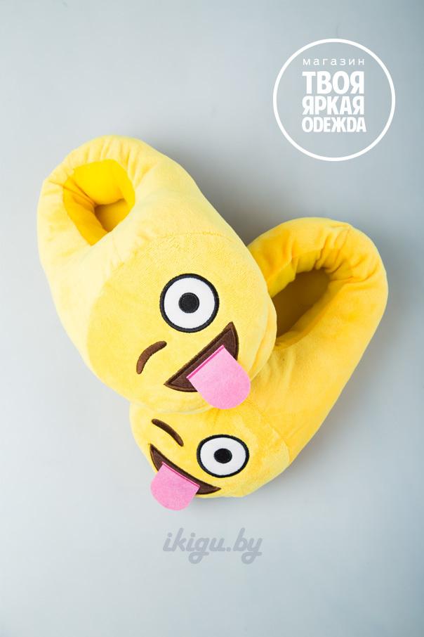 """Тапочки Тапочки Emoji """"Подмигивающий"""" Emodji-podmig.jpg"""