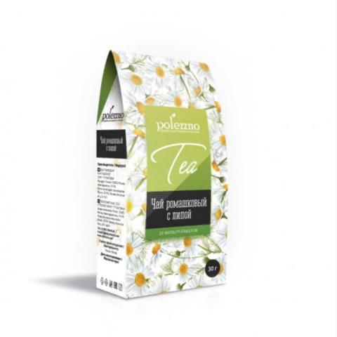 Polezzno ромашковый чай с липой 30 г