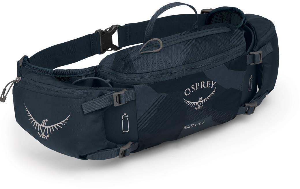 Сумки для бега Сумка поясная Osprey Savu 4 Slate Blue Savu_S19_Side_Slate_Blue_web.jpg
