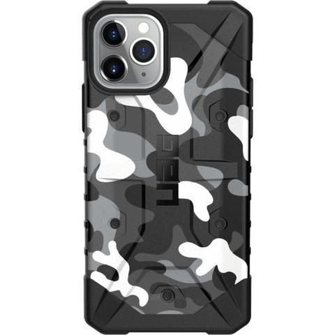 Чехол Uag Pathfinder SE Camo для iPhone 11 Pro белый камуфляж (Arctic Camo)
