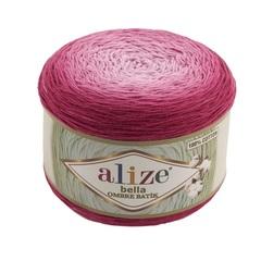 Пряжа Alize Bella Ombre Batik цвет 7405