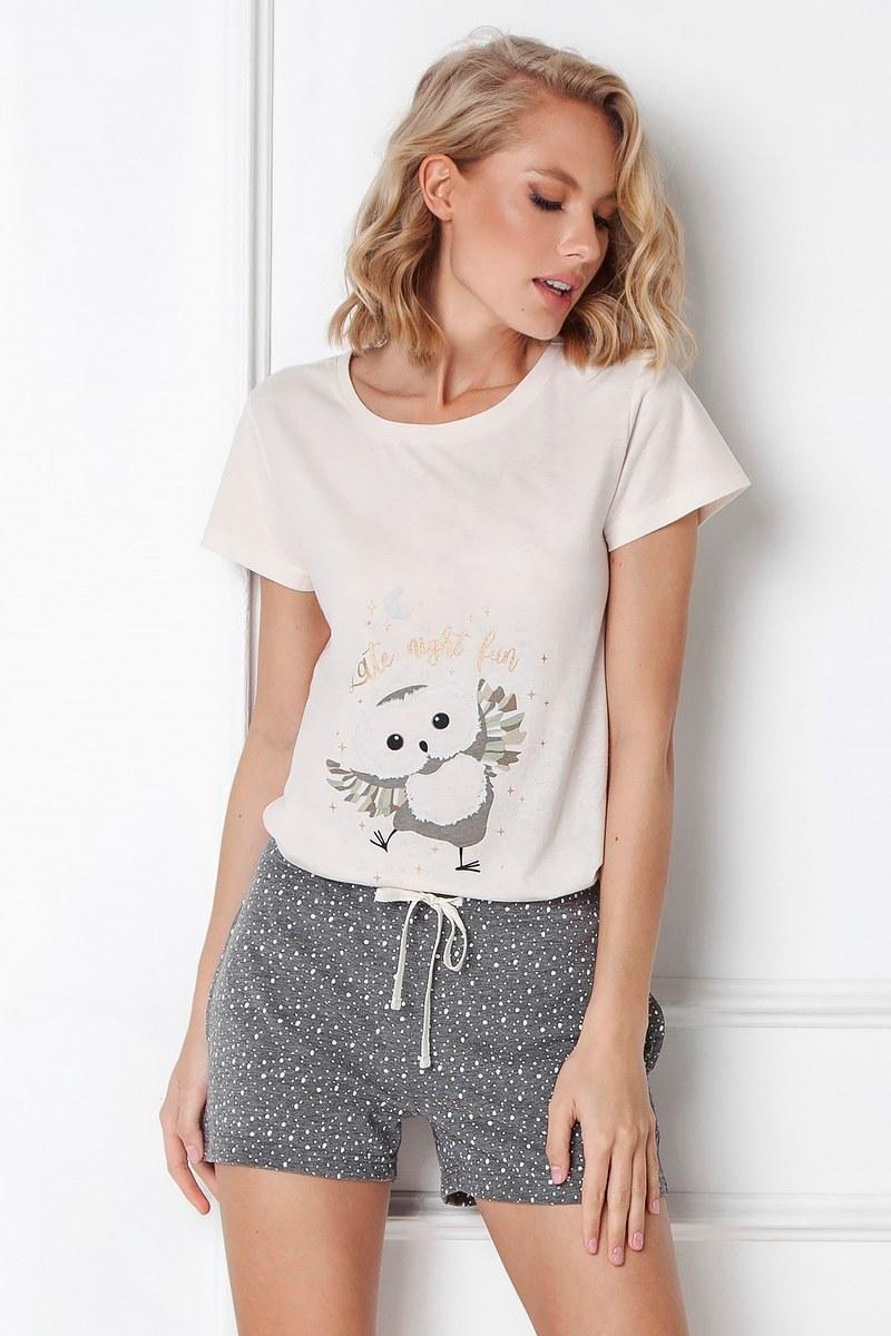 Пижама женская с шортами ARUELLE OWELLA