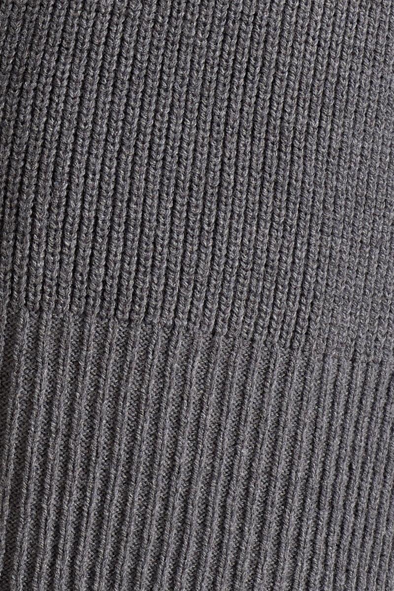 Свитер для беременных 09776 серый