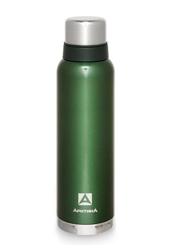 Термос Арктика (1,6 литра) с узким горлом американский дизайн, зеленый