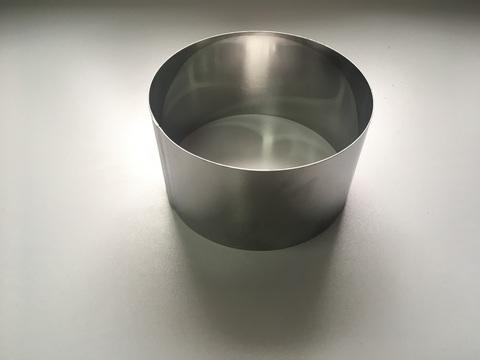 Кольцо-резак для торта H10 D18, нерж. сталь 1 мм.