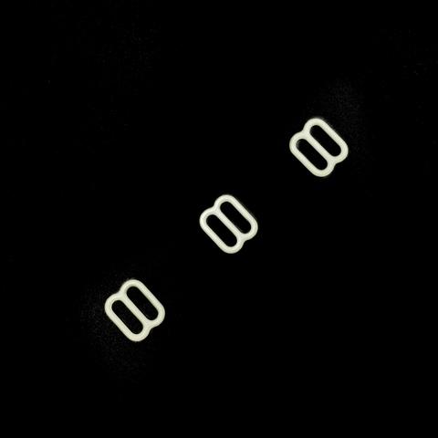 Регулятор для бретели молочный 10 мм (цв. 004)