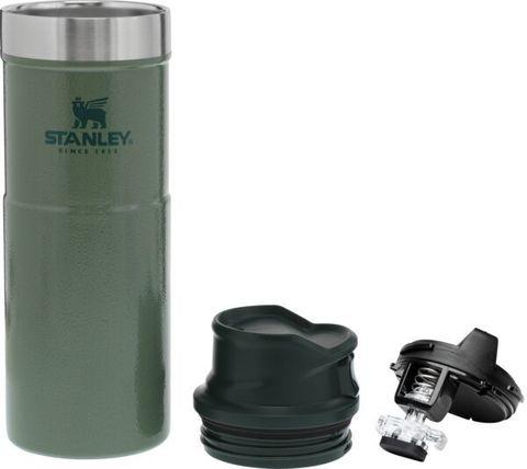 Термокружка Stanley Classic One hand 2.0 (0,47 литра), зеленая