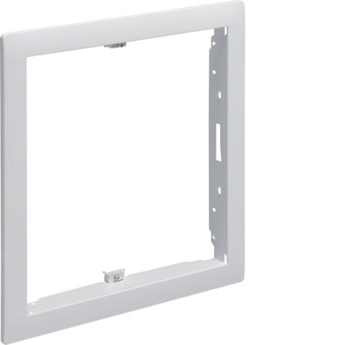 Наружная рамка без дверцы щитка для сплошных стен 9мм,Volta, 1-рядного RAL9010