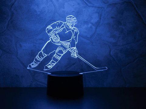 Светильник Хоккеист - Нападающий