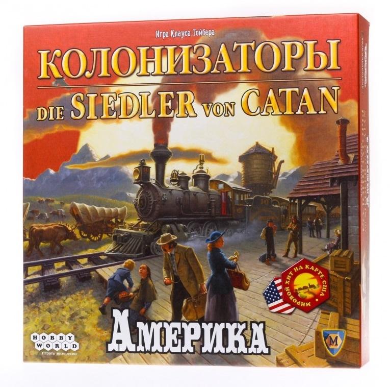 Настольная игра Колонизаторы. Америка