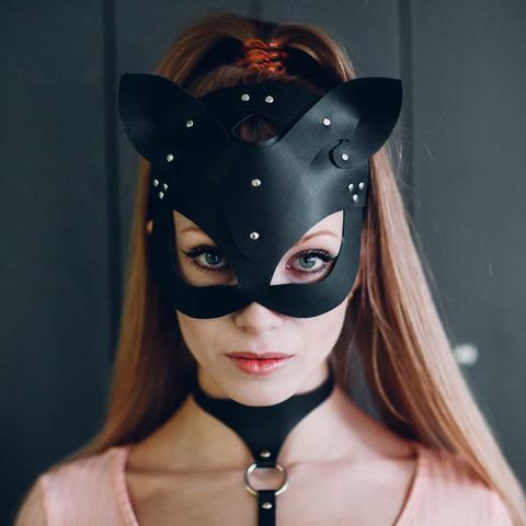 Isy Mo Маска Кошка (черный)