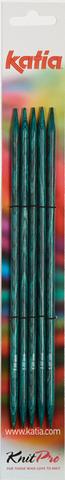 Katia Спицы чулочные (дерево), № 3, 20 см