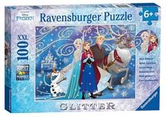 Puzzle Frozen-glittery Snow 100 pcs