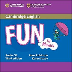 Fun for Starters, Movers and Flyers 3Ed Movers Aud CD !!