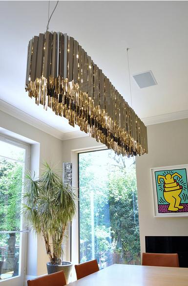 Подвесной светильник копия Tom Kirk Facet by Innermost D60 (золотой)
