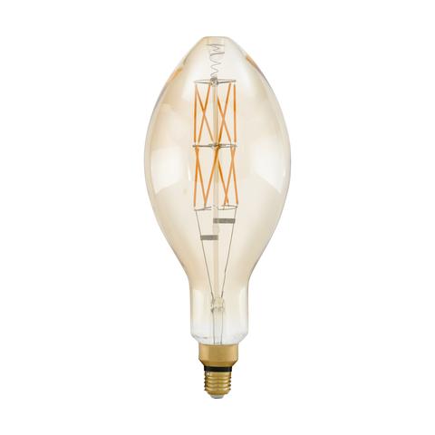 Лампа  LED филаментная диммир. янтарного цвета Eglo BIG SIZE LM-LED-E27 1X8W 806Lm 2100K E140 11685