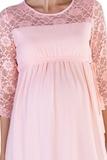 Платье для беременных 08286 розовый